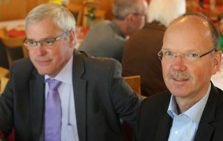 Michael Thiesen, Stadtbuergermeister und Thilo Becker Buerogermeister der Verbandsgemeinde Hoehr-Grenzhausen