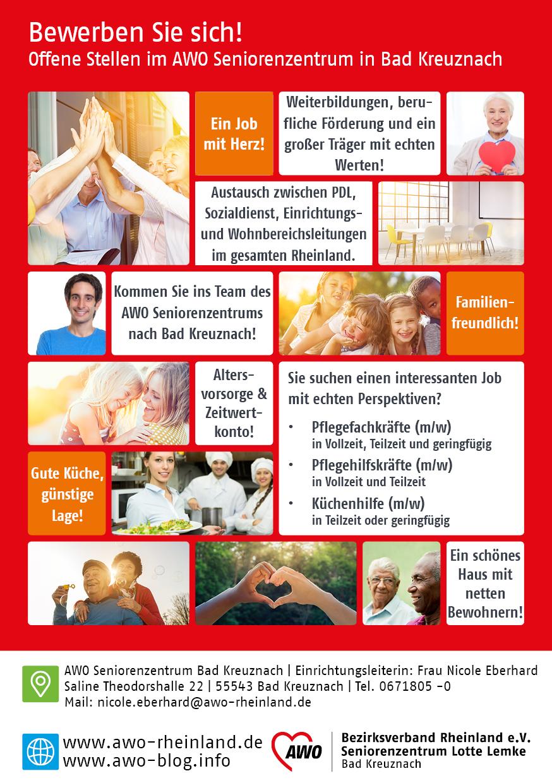 Pflegekräfte in Bad Kreuznach gesucht