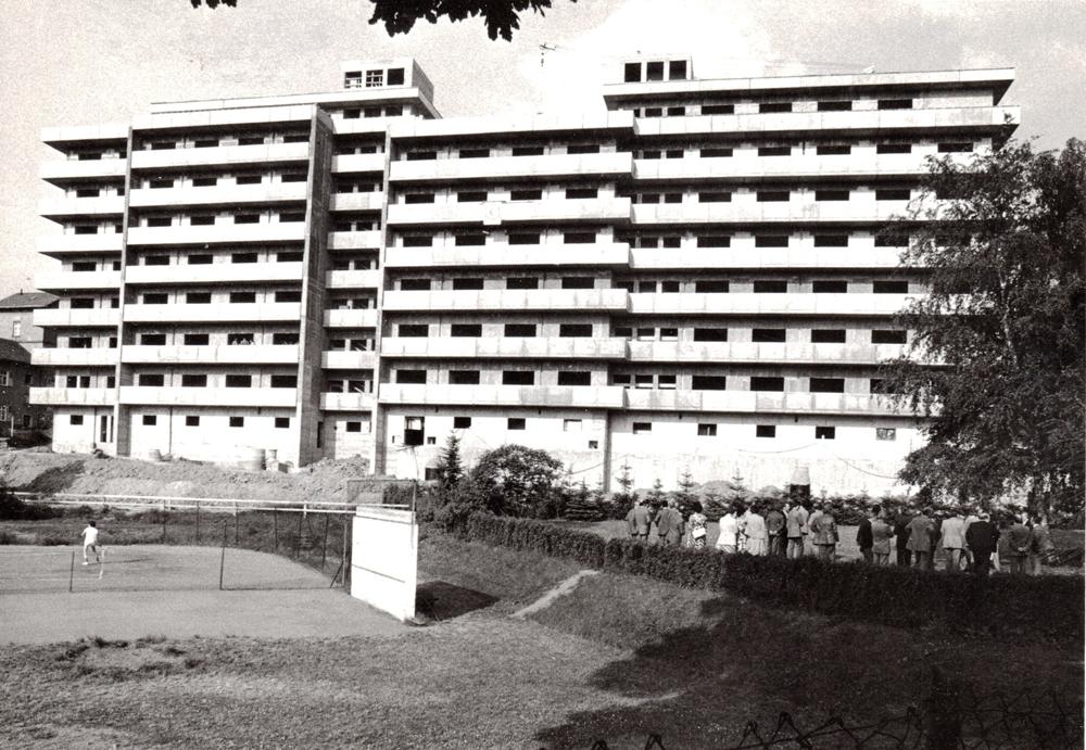 Altenheim Bendorf im Bau