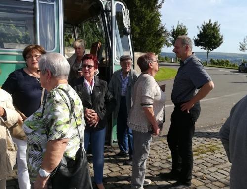 AWO Ortsverein Zewen und Olewig luden zur Weinprobe.