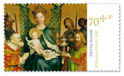 AWO Briefmarke Weihnachten 2017