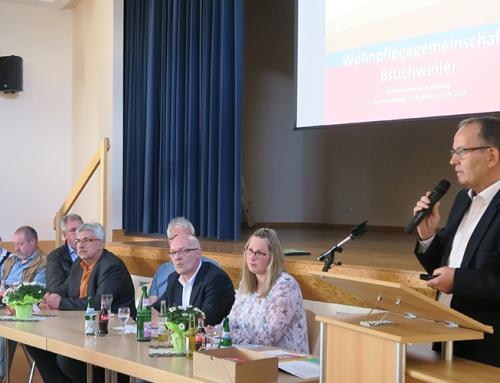 Neubau einer Wohnpflegegemeinschaft in Bruchweiler