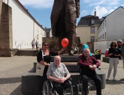 Eine Geburtstagsüberraschung im AWO Seniorenzentrum in Trier