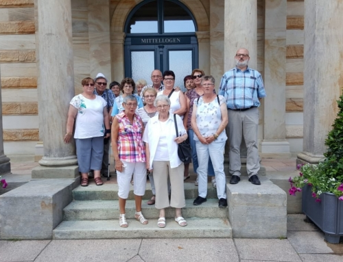 Urlaubsreise ins Frankenland mit dem AWO Stadtverband Trier