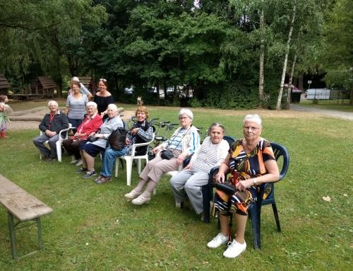 """Senioren besuchen die Kinderferienfreizeit """"Sport-Camp"""""""