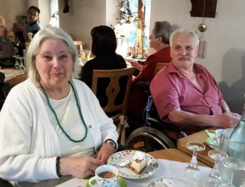 Ein unvergessliches Erlebnis für die Senioren des AWO Seniorenzentrums Am Hain: Die Seele baumeln lassen, den Gaumen erfreuen, sich ausruhen und klönen im Café Hain in Diez