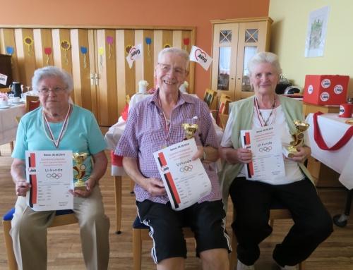 AWO-Seniorenzentrum Kannenbäckerland: Bewohner erzielen sportliche Erfolge