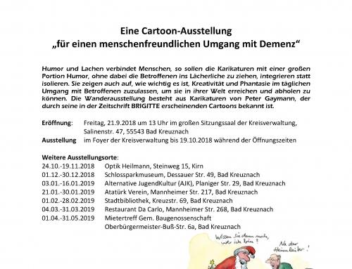 Weltalzheimertag 2018: DeMensch – Mensch und Demenz durch Humor gekonnt in Szene gesetzt!