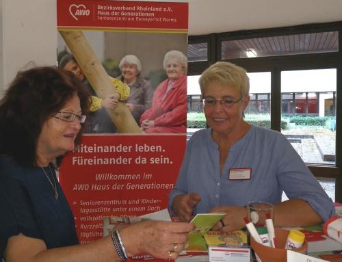 AWO Haus der Generationen Remeyerhof  beteiligt sich am Fachtag für Demenz