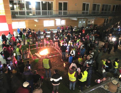 AWO Haus der Generationen Remeyerhof  feiert  Sankt  Martin