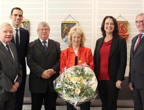 Stellvertretende Vorsitzende unseres Bezirksverbands Ursula Orth erhält die Verdienstmedaille der Bundesrepublik Deutschland