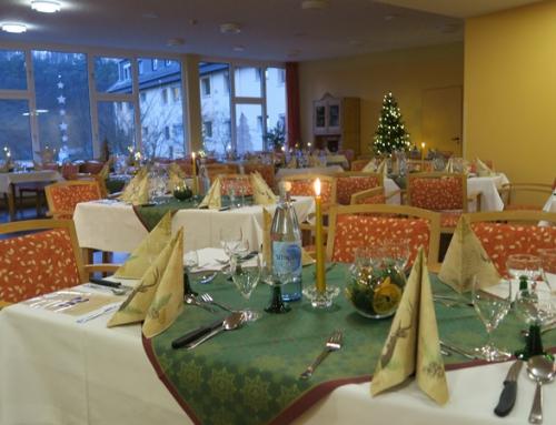 Einladung zum Adventsmenü im AWO Seniorenzentrum Idar-Oberstein
