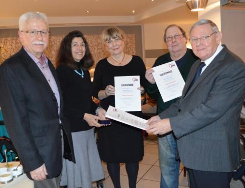 Jahreshauptversammlung und Mitgliederehrung