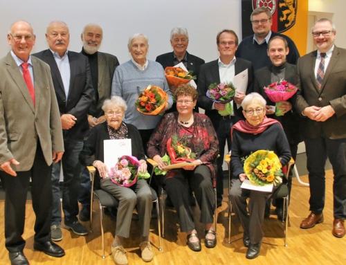 Adventsfeier der AWO Ingelheim/Selztal mit Ehrungen
