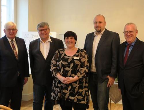 Neujahrsempfang in der AWO Seniorenresidenz Alte Glaserei in Neuwied