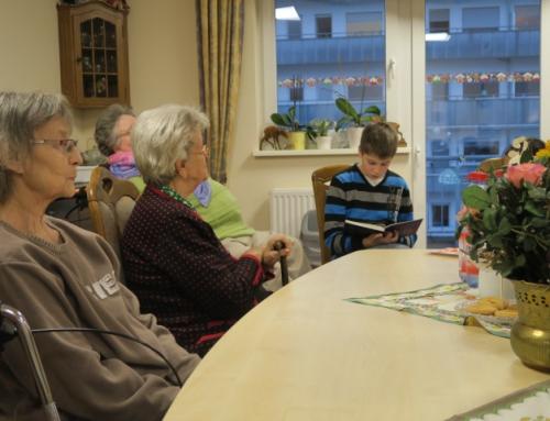 AWO Seniorenzentrum Höhr-Grenzhausen: Kinder und Jugendliche lesen für Senioren im Kannenbäckerland