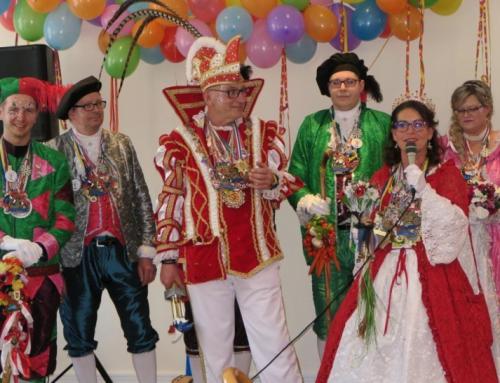 Seniorenresidenz Alte Glaserei feiert ausgelassen Karneval
