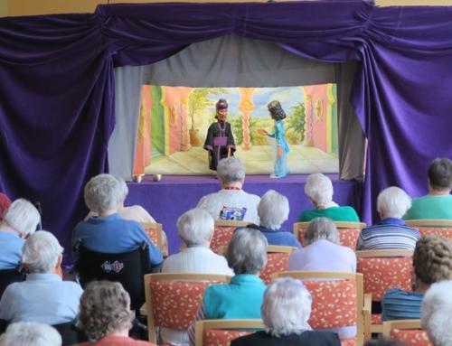Marionettentheater zu Besuch im AWO Seniorenzentrum Idar-Oberstein