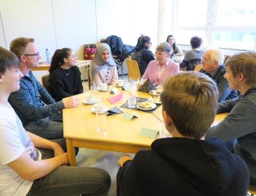 AWO Seniorenzentrum Kannenbäckerland – Ein besonderer Ausflug in die Ernst- Barlach- Realschule Plus