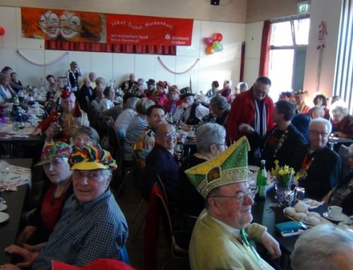 Gemeinsame Karnevalsfeier der AWO und der JuBüz Karthause