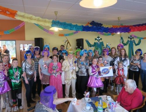 Karnevalsfeier im AWO Seniorenzentrum Kannenbäckerland