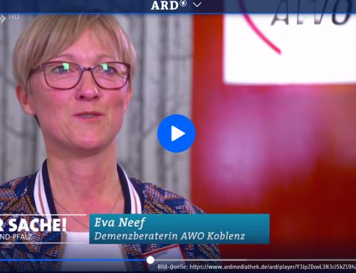 Der SWR zu Besuch im neuen AWO Quartiersbüro: Fernsehbeitrag zum Thema Demenz aus Koblenz