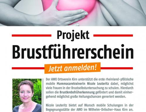 Projekt Brustführerschein in Kirn