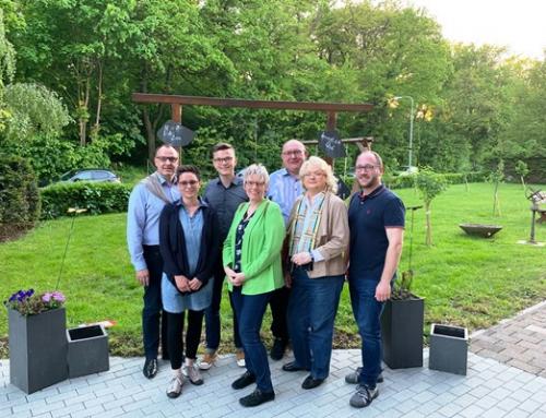 SPD Gemeindeverband Diez zu Gast bei Ehrenamtskoordinatorin Katharina Neumann im AWO Seniorenzentrum Am Hain