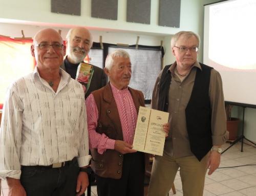 AWO Bingen-Büdesheim wählt neuen Vorstand und ehrt Seppel Götze