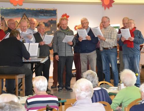 Chorkonzert im AWO Seniorenzentrum Sterngarten in Mayen: Männergesangsverein Eintracht Kottenheim zu Gast