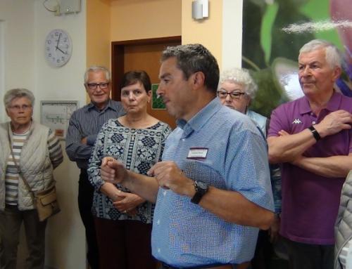 AWO besucht Seniorensitz der Blindenhilfe auf der Karthause