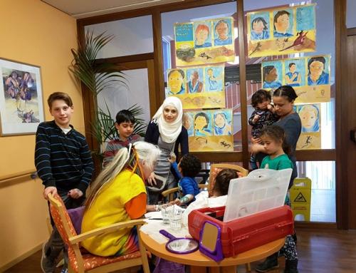 AWO Seniorenzentrum und AWO Migrationsfachdienst in Idar-Oberstein haben Zeichen gegen Rassismus gesetzt
