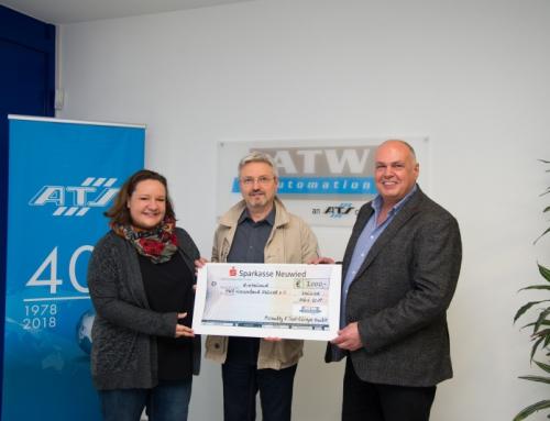 Neuwieder Technik-Unternehmen ATW unterstützt Jugendarbeit der Arbeiterwohlfahrt Neuwied