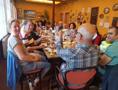 Frühstücksausflug der Ehrenamtlichen des Lotte Lemke Hauses