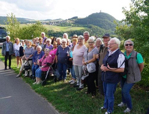 Sommerfahrt der AWO Remagen und Kripp-Vulkanismus unserer Heimat