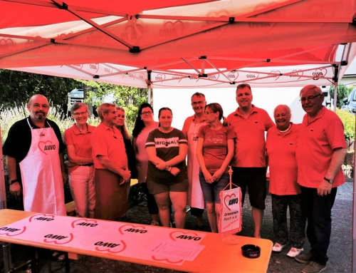 Sommerfest der AWO Ortsverein Polch e.V. war trotz großer Hitze ein voller Erfolg