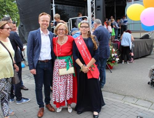 4. AWO Erdbeerkönigin Ronja I. Überraschungsgast bei der 100-Jahr-Feier