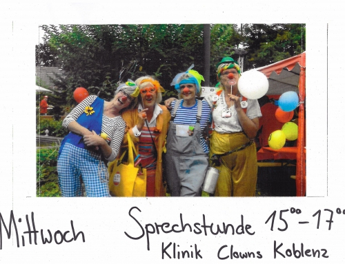"""Projekt des Monats"" – Sprechstunde der Klinik Clowns Koblenz im AWO Quartiersbüro"