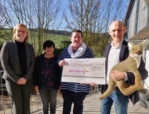 Spendenübergabe der AWO Seniorenhäuser Diez an das Kinderhaus Nesthäkchen in Laufenselden und den Tierschutzverein Limburg-Weilburg