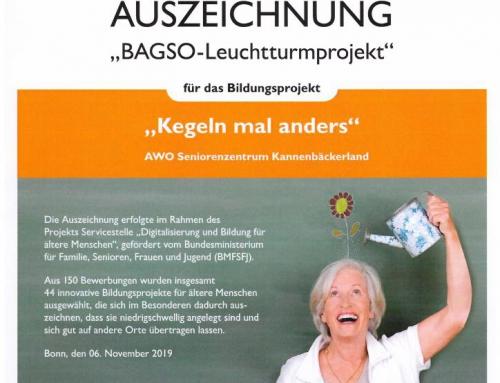 AWO Seniorenzentrum Kannenbäckerland auf der BAGSO Fachtagung in Bonn