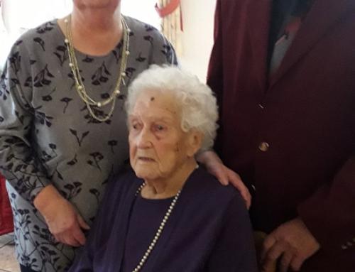 AWO Mitglied Katharina Oswald wurde 100 Jahre