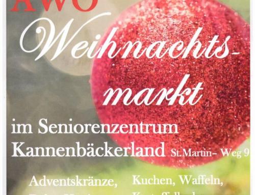 AWO Seniorenzentrum Kannenbäckerland – Weihnachtsmarkt am 30.11.2019