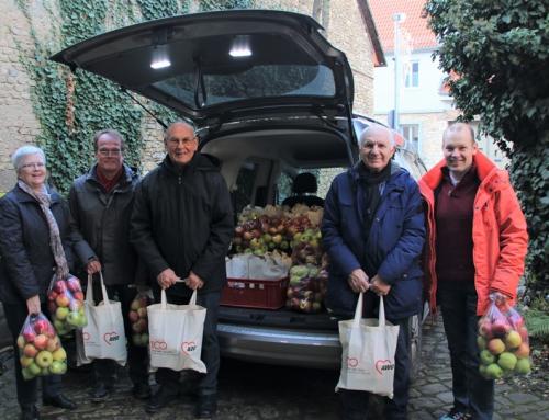 Weihnachtsaktion in Ingelheim