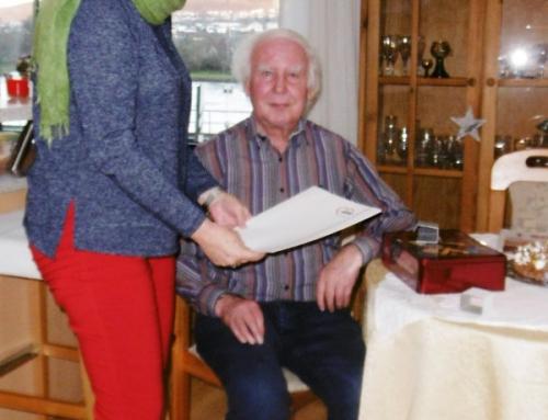 Ehrung langjähriges Mitglied beim der AWO Koblenz