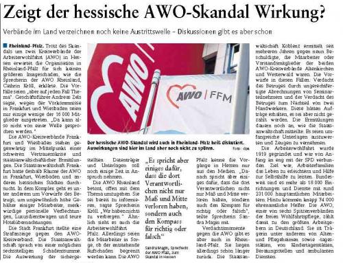 Zeigt der hessische AWO Skandal Wirkung?