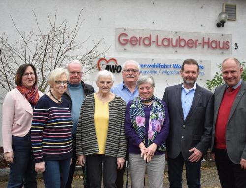 Neujahrstreffen im Gerd-Lauber-Haus