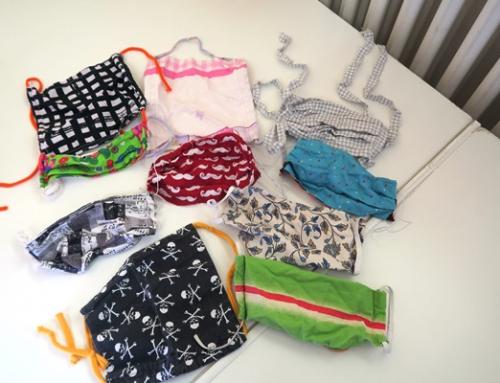 Zahlreiche Spenden von Behelfs-Mund-Nasen-Schutz/ DIY-Masken erreichen die AWO Seniorenhäuser Diez