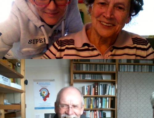AWO Seniorenzentrum Bendorf: Bewohner*innen skypen mit Angehörigen