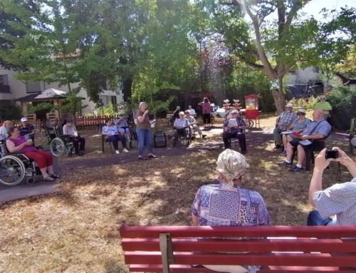 "AWO Seniorenzentrum Mainz Oberstadt: ""Musikalische NaturFreunde"" bei uns zu Gast am Mittwoch, 29. Juli 2020"