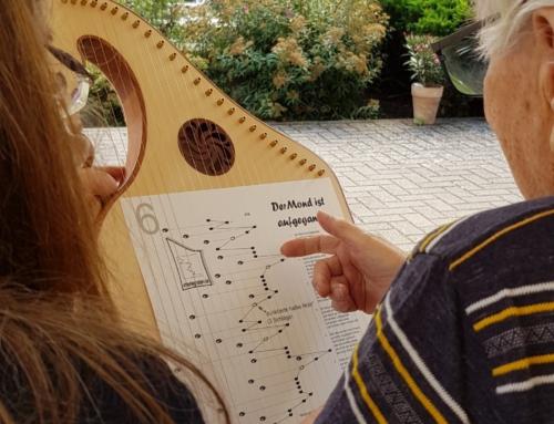 AWO Seniorenzentrum Koblenz: Drei Tischharfen für das Seniorenzentrum Laubach